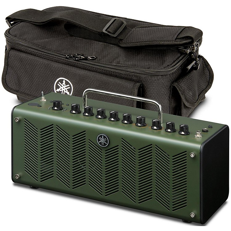 Yamaha THR10X Amp Head and Amp Bag Camo Green