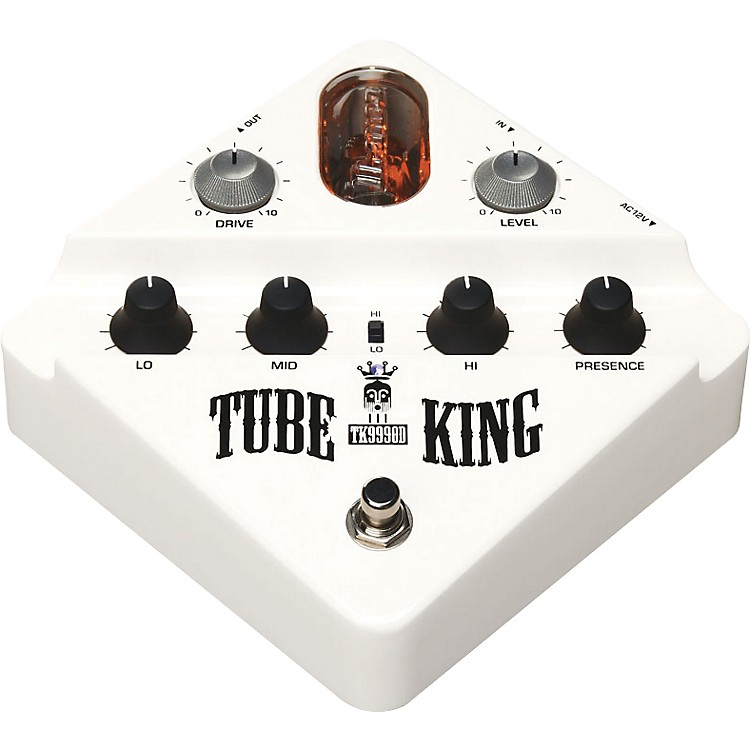 Ibanez TK999OD Tube King Overdrive Guitar Effects Pedal White