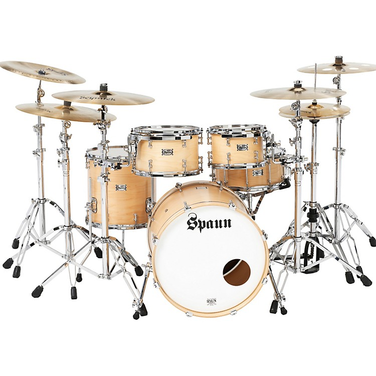 Spaun TL USA 4-Piece Shell Pack Blonde Satin