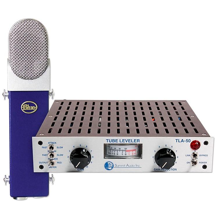 BLUETLA-50 Tube Leveling Amplifier & Blueberry Condenser Microphone Kit