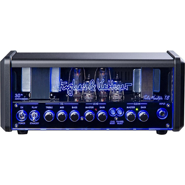 Hughes & KettnerTM18H Anniversary TubeMeister Tube Guitar Head with FREE FS2 Footswitch and Padded Bag