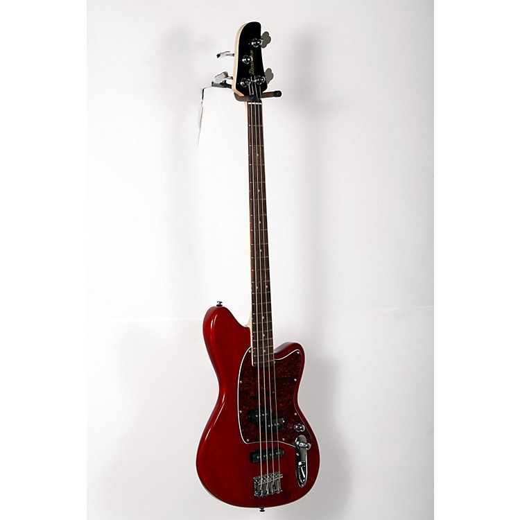 Ibanez TMB100 4-String Electric Bass Guitar Transparent Red 888365857442