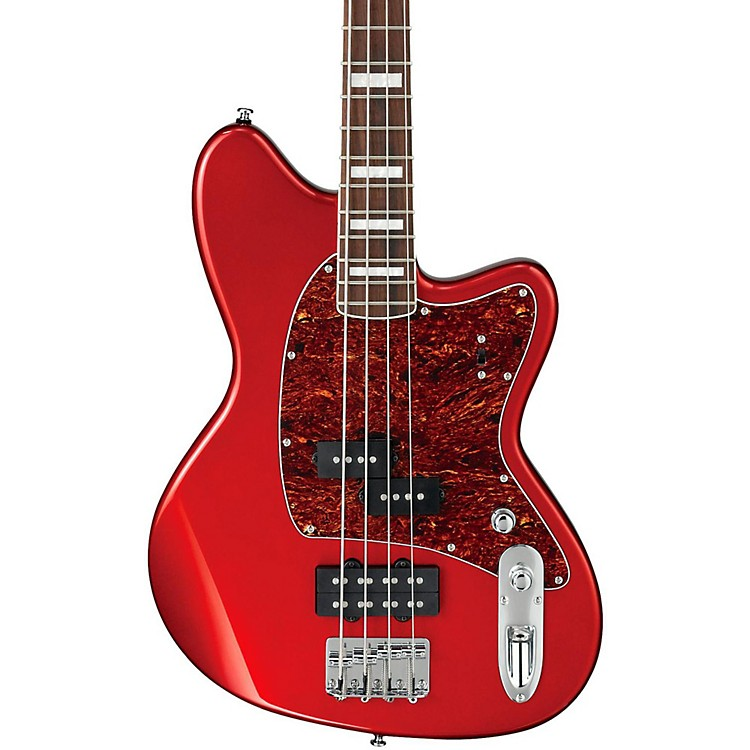 Ibanez TMB300 4-String Electric Bass Guitar Candy Apple