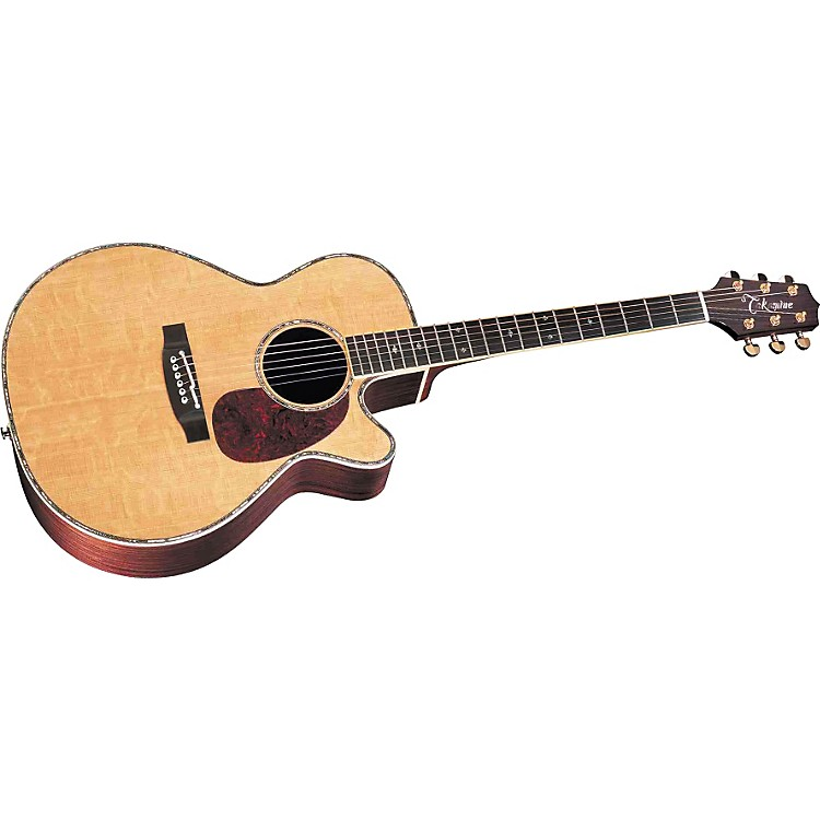 TakamineTNV460SC Acoustic-Electric Guitar with CTP-1 Cool Tube Preamp