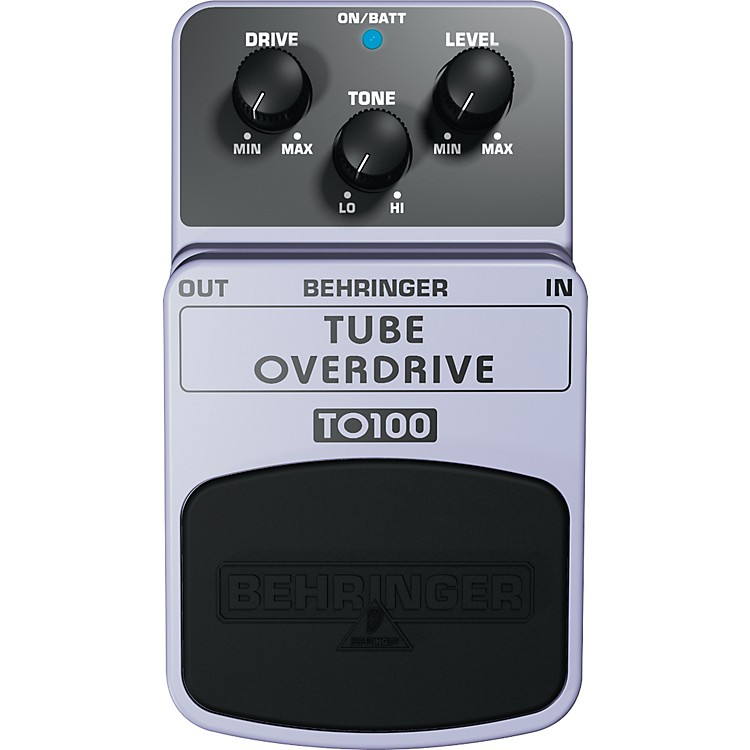 BehringerTO100 Tube Overdrive Guitar Effects Pedal