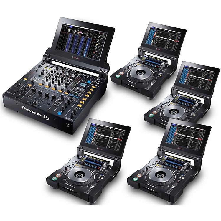 PioneerTOUR System with 4 CDJ-TOUR1 Media Players
