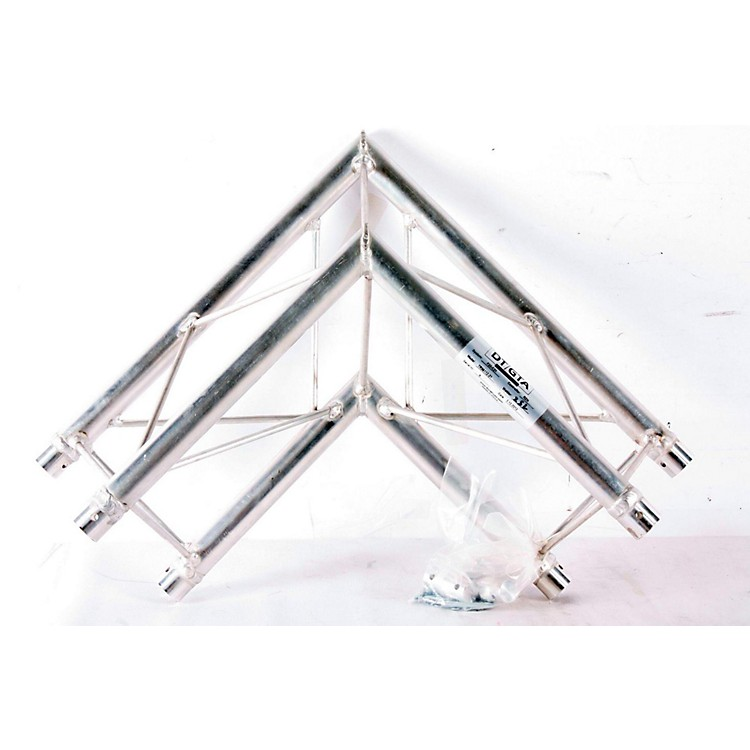 GLOBAL TRUSS TR96112-21 1.64 Ft. (.5 M) 2-Way 90-Degree Up/Down Corner Apex Triangle Truss  888365177717