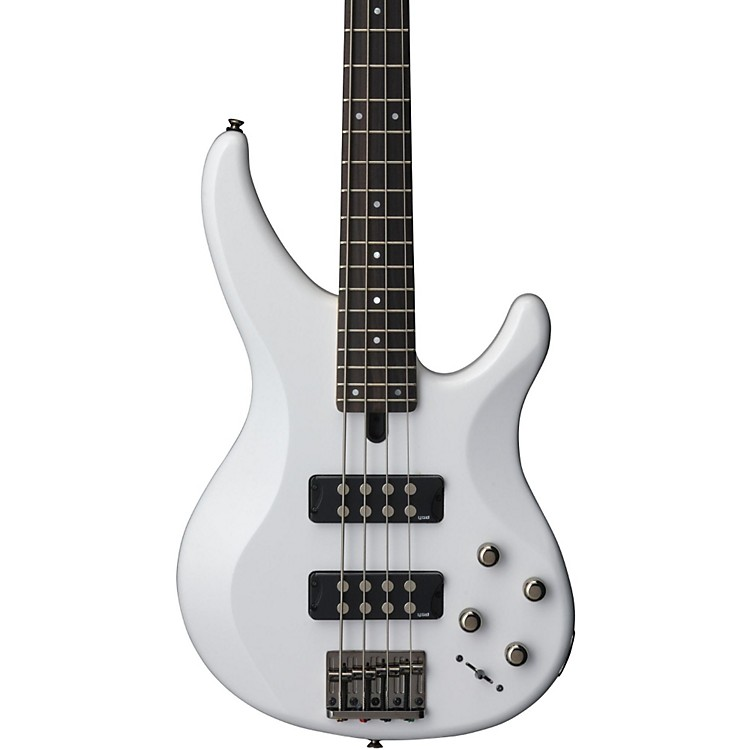 Yamaha TRBX304 4-String Electric Bass White Rosewood Fretboard