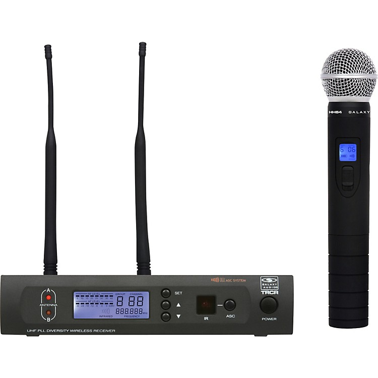 Galaxy Audio TRC HH64 Handheld Wireless System