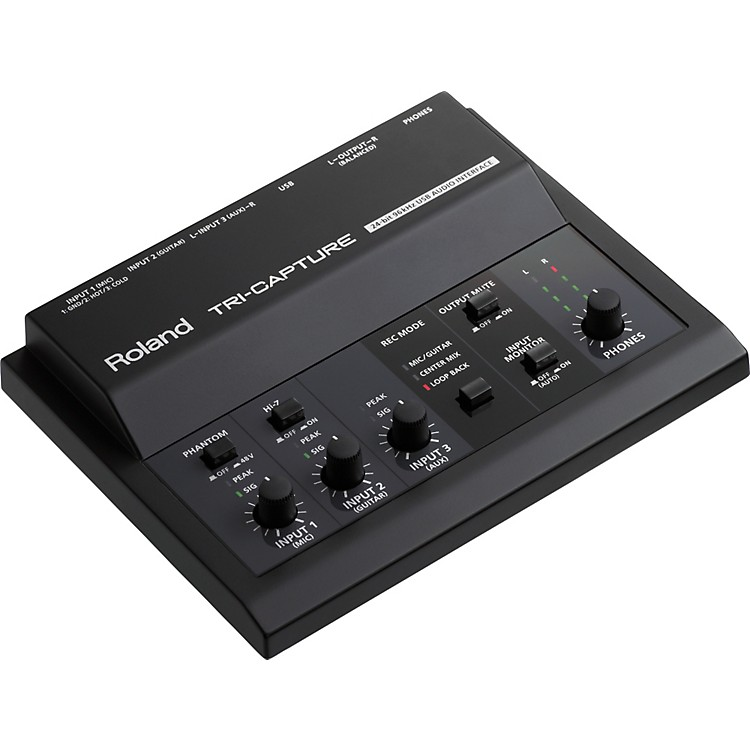RolandTRI-CAPTURE: USB Audio Interface