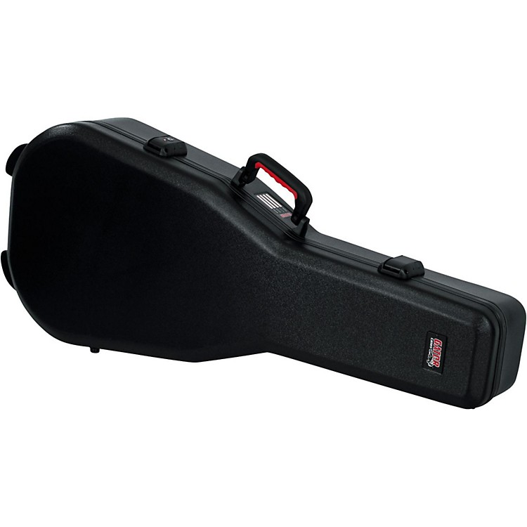 GatorTSA ATA Molded Acoustic Guitar CaseBlackBlack