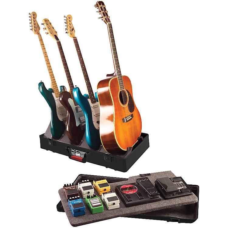 GatorTSA GIG-BOX Guitar Stand/Pedalboard