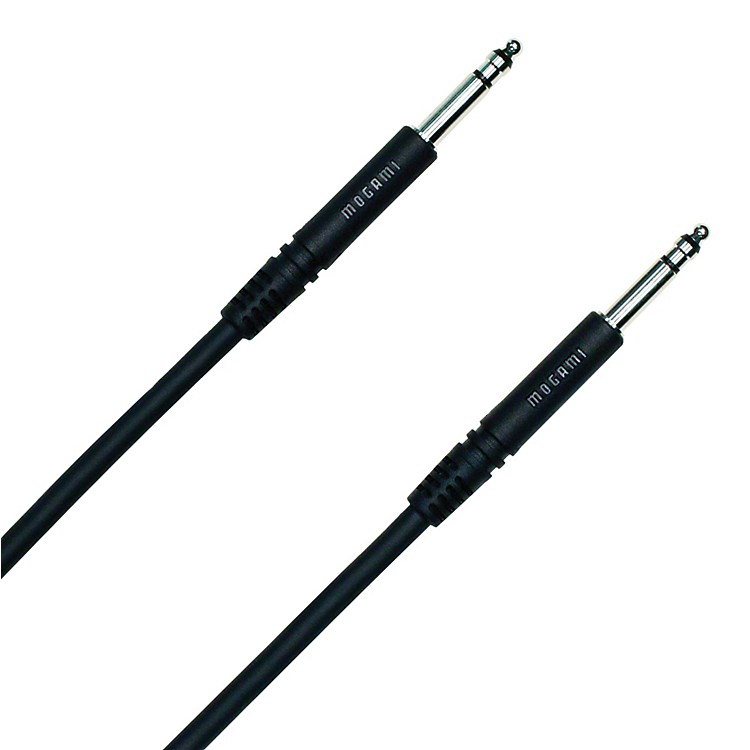 Mogami TT-TT Patch Cable Black 36 in.