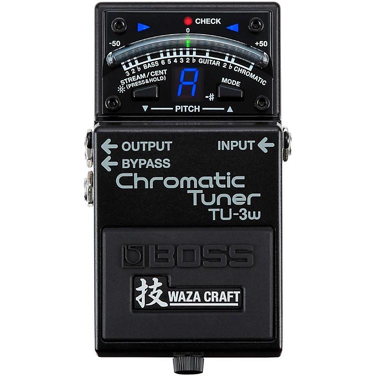 BossTU-3W Waza Craft Chromatic Tuner Pedal