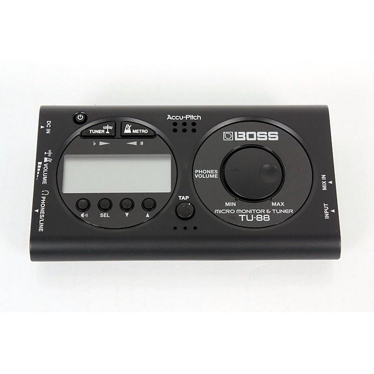 BossTU-88 Micro Monitor & Tuner for Guitar & BassBLACK