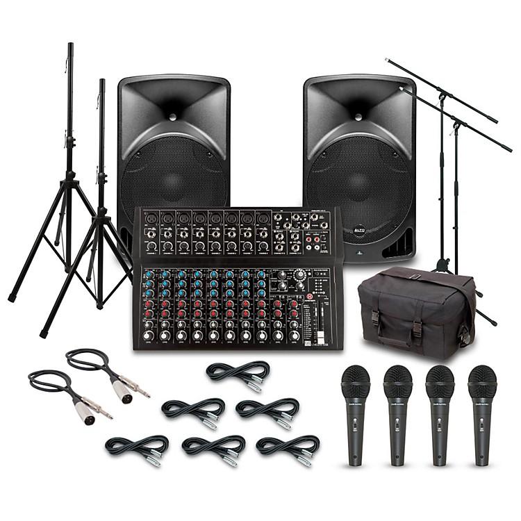 AltoTX15USB with Harbinger L1402FX Mixer PA System
