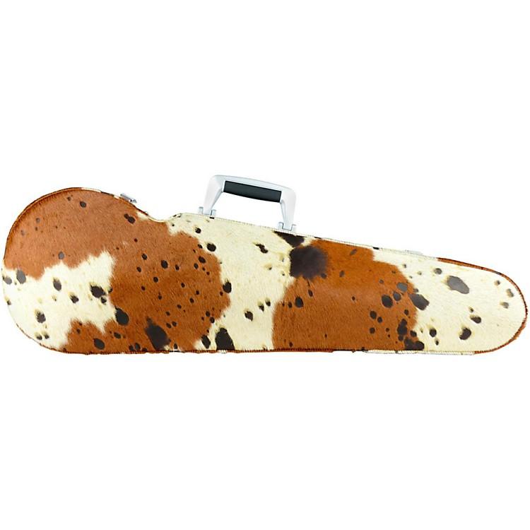 BamTX2002XL Texas Contoured Hightech Cow Skin Violin CaseCow Skin