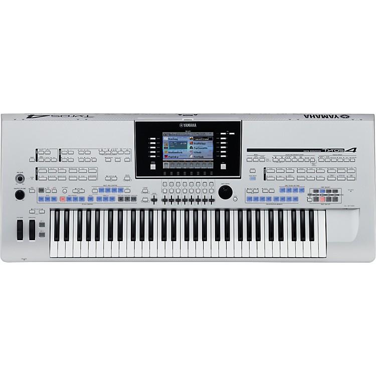 YamahaTyros4 Arranger Workstation KeyboardSilver