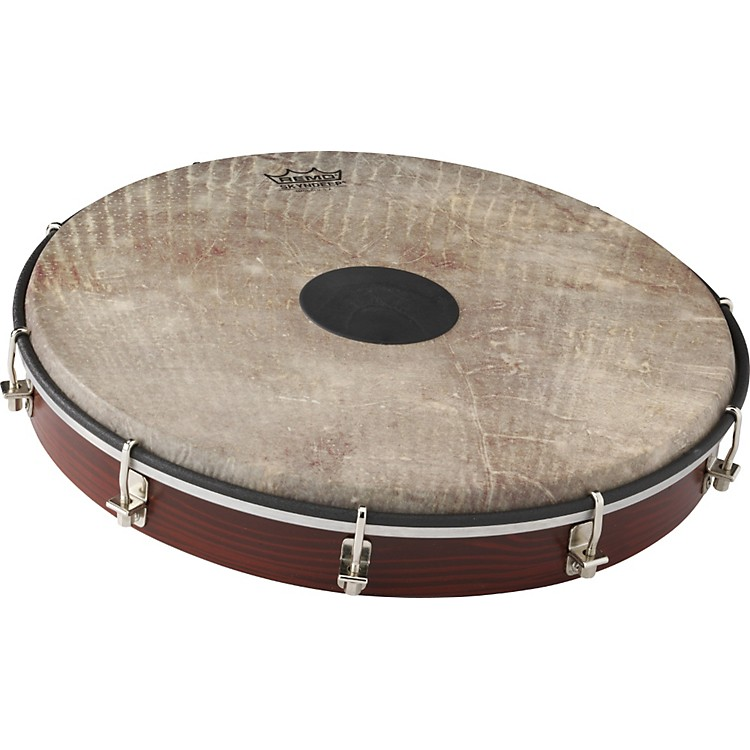 Remo Tablatone Frame Drum Brown and White Skyndeep Fish Skin 12 in.