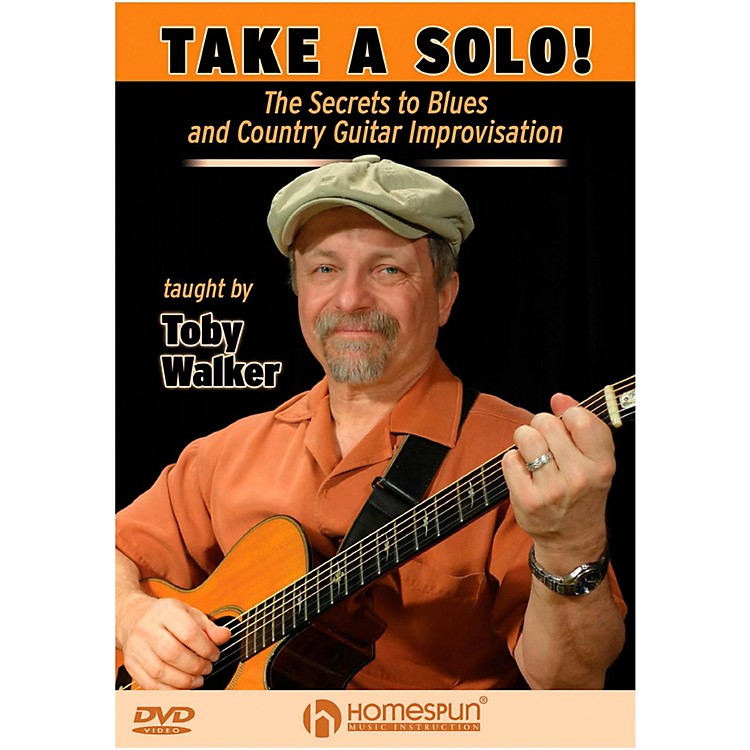 HomespunTake A Solo!  The Secrets To Blues And Country Guitar Improvisation DVD