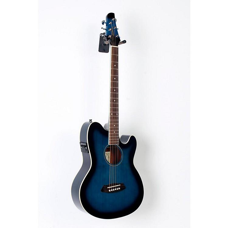 IbanezTalman TCY10 Acoustic-Electric GuitarTransparent Blue Sunburst888365772578