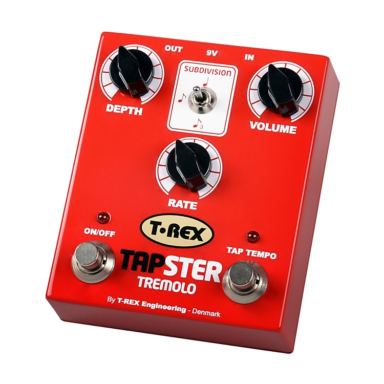 T-Rex Engineering Tapster Tremolo Guitar Effects Pedal