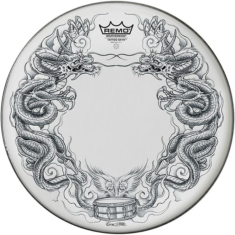 RemoTattoo Skyn Drumhead14 in.Dragon Skyn Graphic