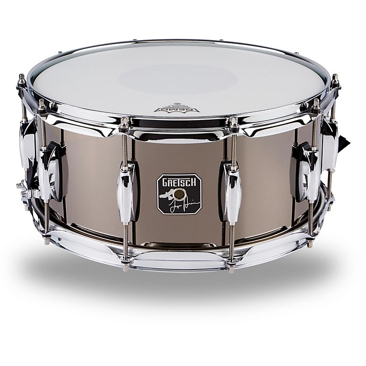 Gretsch Drums Taylor Hawkins Signature Snare Drum Black Nickel-Over-Steel 14 x 6.5 in.
