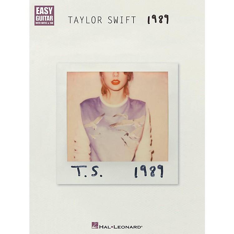 Hal LeonardTaylor Swift - 1989 Easy Guitar Tab