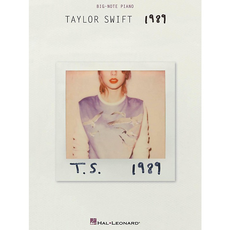 Hal Leonard Taylor Swift - 1989 for Big Note Piano