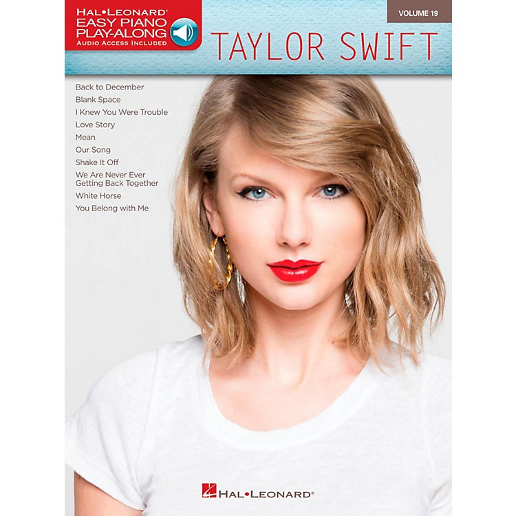 Hal LeonardTaylor Swift - Easy Piano Play-Along Volume 19 Book/Online Audio