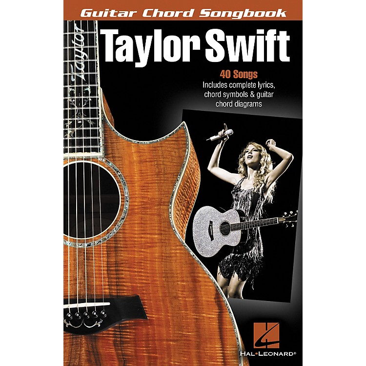 Hal LeonardTaylor Swift - Guitar Chord Songbook