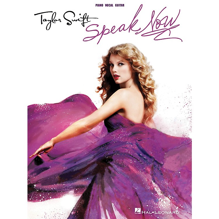 Hal Leonard Taylor Swift - Speak Now P/V/G Songbook