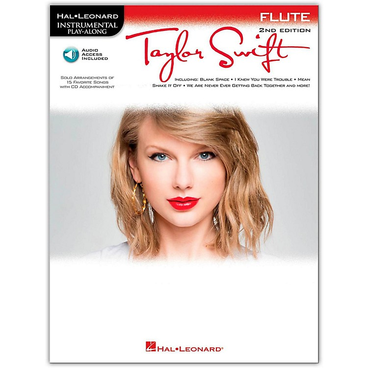 Hal Leonard Taylor Swift For Flute - Instrumental Play-Along Book/CD