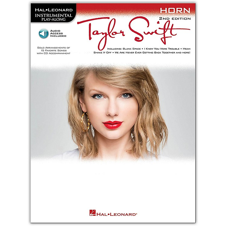 Hal Leonard Taylor Swift For Horn - Instrumental Play-Along Book/CD