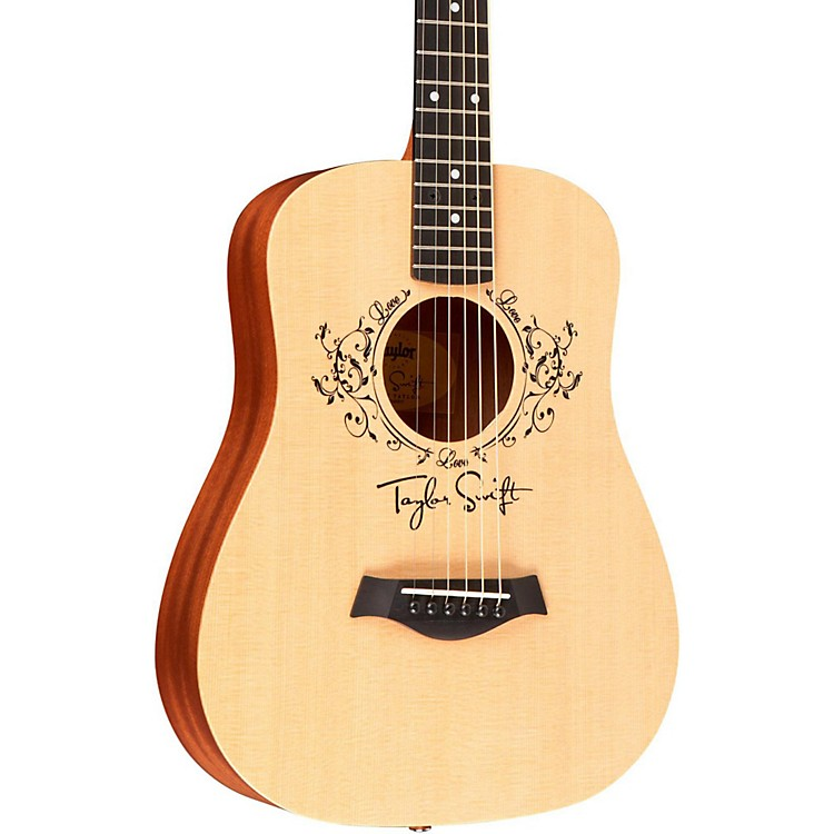 Taylor Taylor Swift Signature Baby Left-Handed Acoustic Guitar Natural 3/4 Size Dreadnought