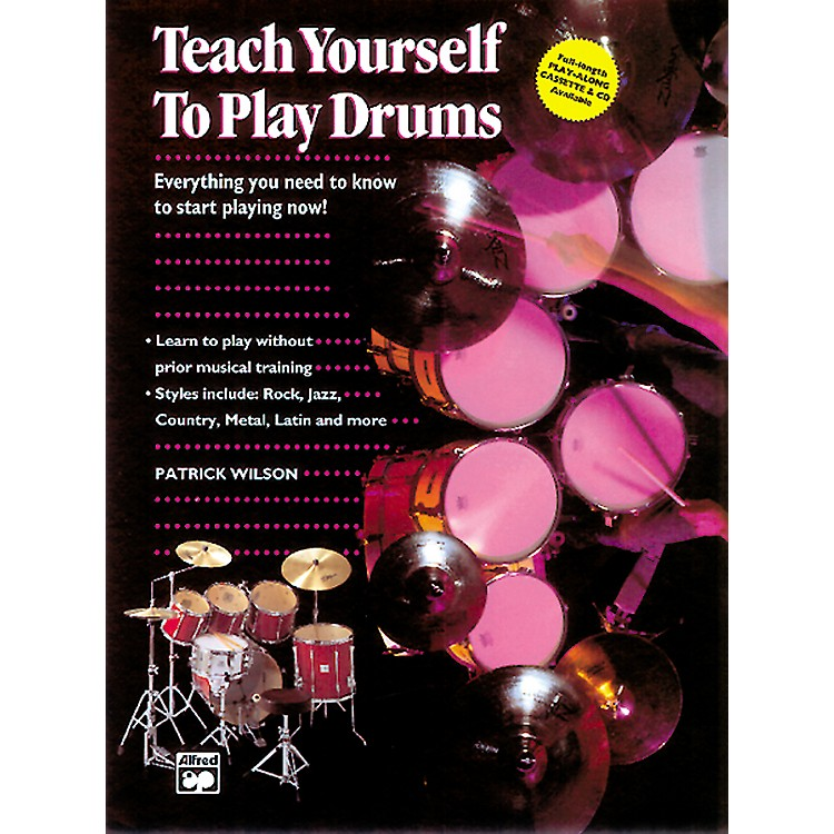 AlfredTeach Yourself to Play Drums Book with CD
