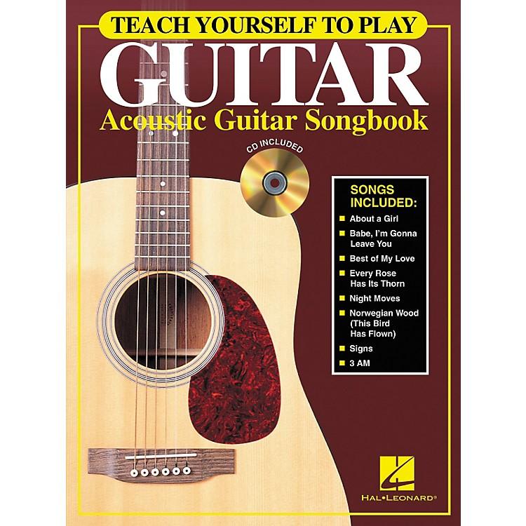 Hal LeonardTeach Yourself to Play Guitar - Acoustic Guitar (Songbook/CD)
