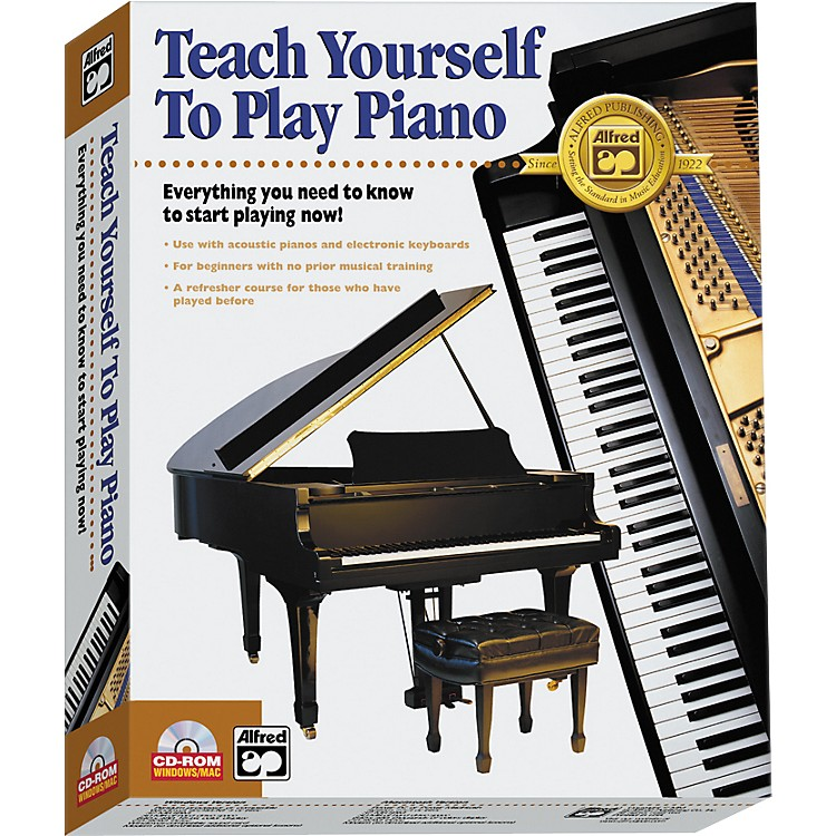 AlfredTeach Yourself to Play Piano CD-ROM