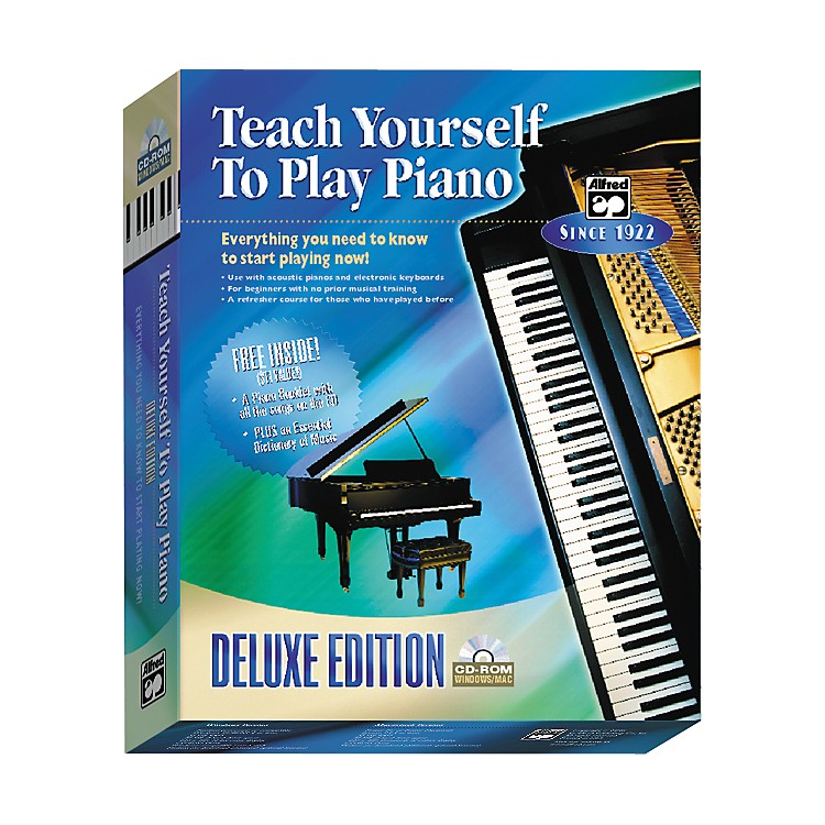 AlfredTeach Yourself to Play Piano Deluxe Edition CD-ROM