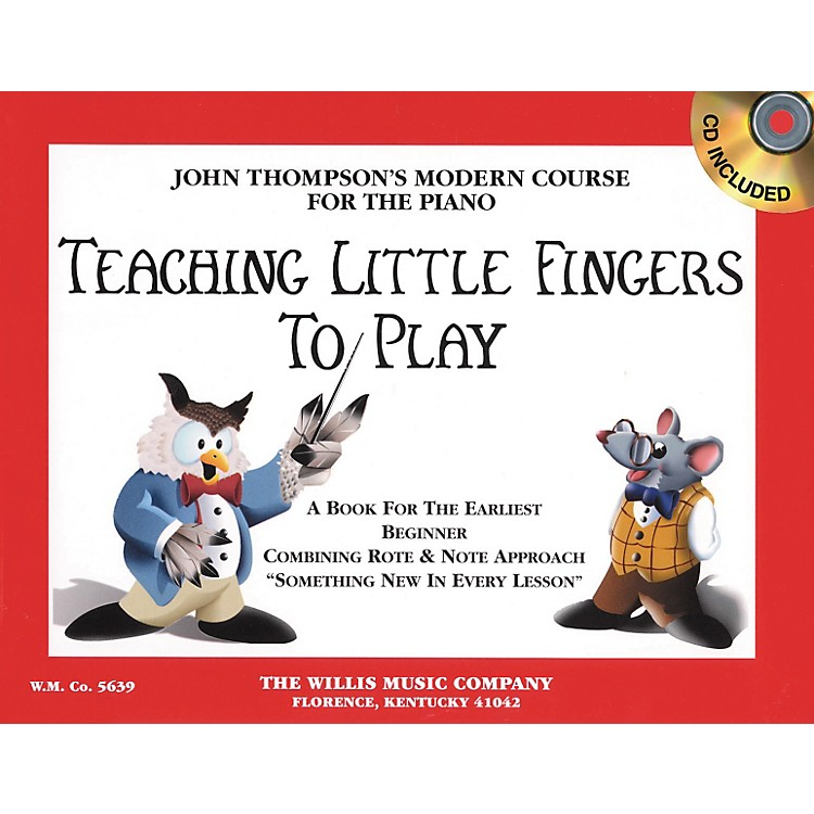 Willis Music Teaching Little Fingers To Play Book/CD