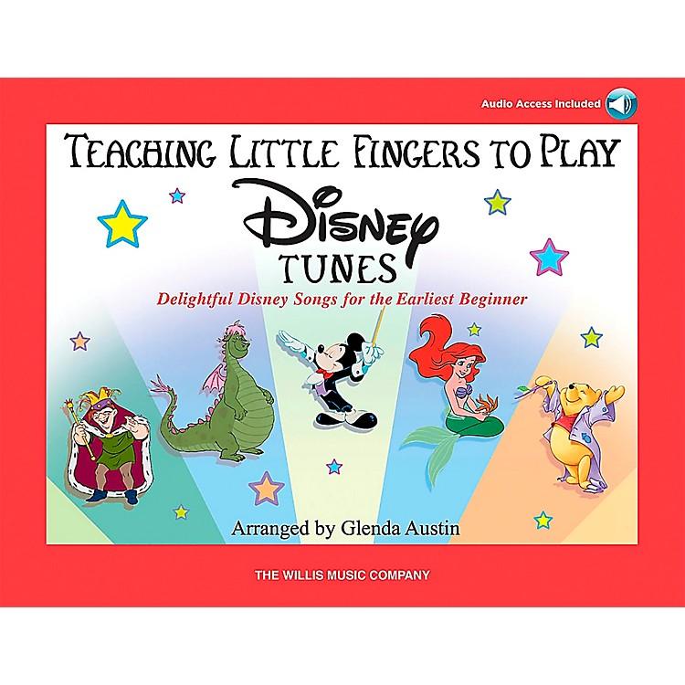 Willis MusicTeaching Little Fingers To Play Disney Tunes Book/CD