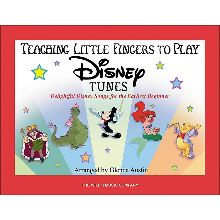 Willis MusicTeaching Little Fingers To Play Disney Tunes (Book Only)