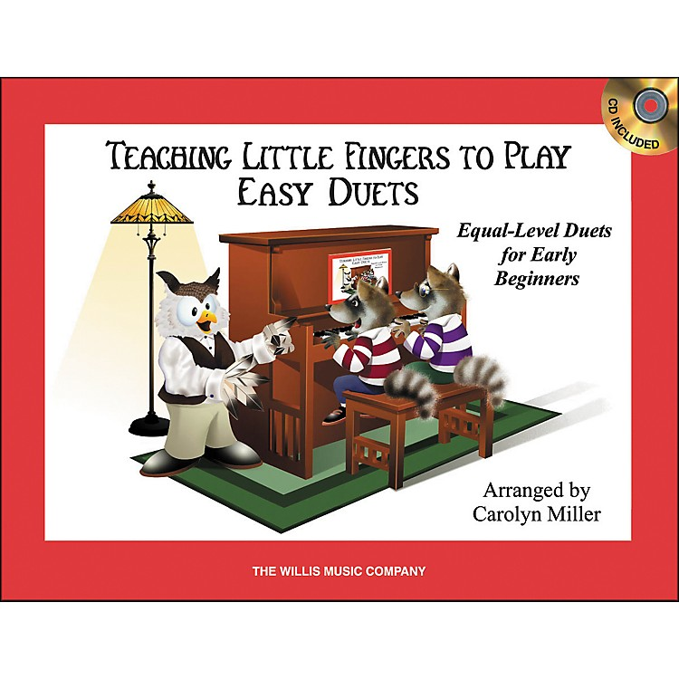 Willis MusicTeaching Little Fingers To Play Easy Duets 1 Piano, 4 Hands Book/CD