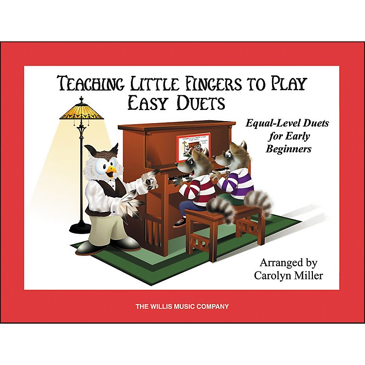 Willis MusicTeaching Little Fingers To Play Easy Duets (Book Only) 1 Piano 4 Hands