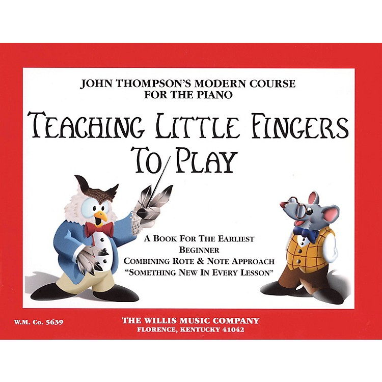 Hal LeonardTeaching Little Fingers To Play Piano Book