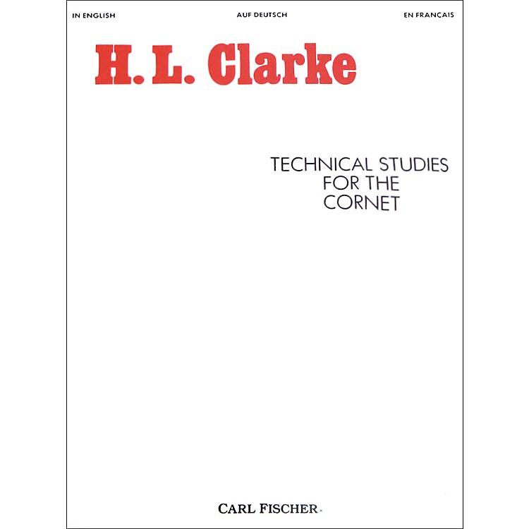Carl FischerTechnical Studies for the Cornet