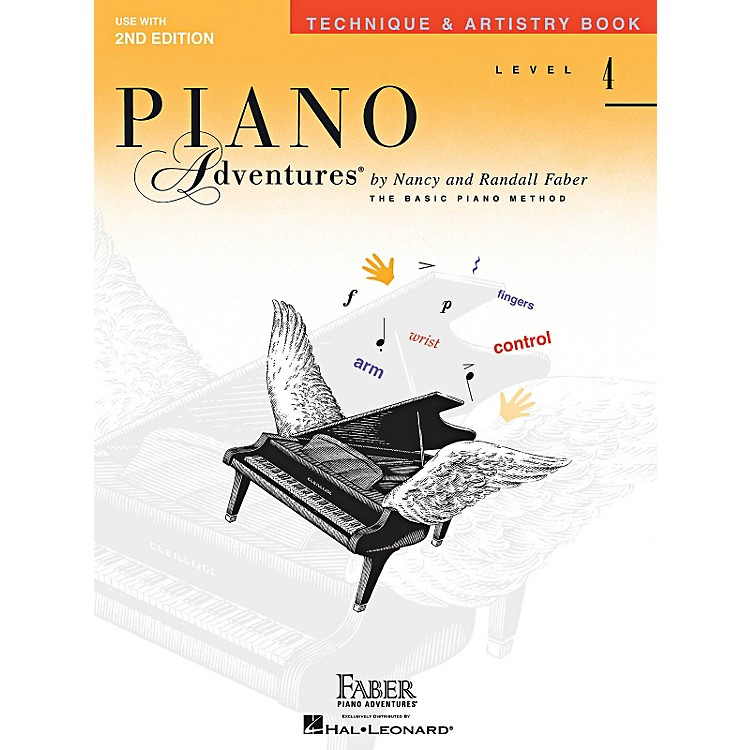 Faber Music Technique & Artistry Level 4 Faber Piano Adventures Second Edition Book
