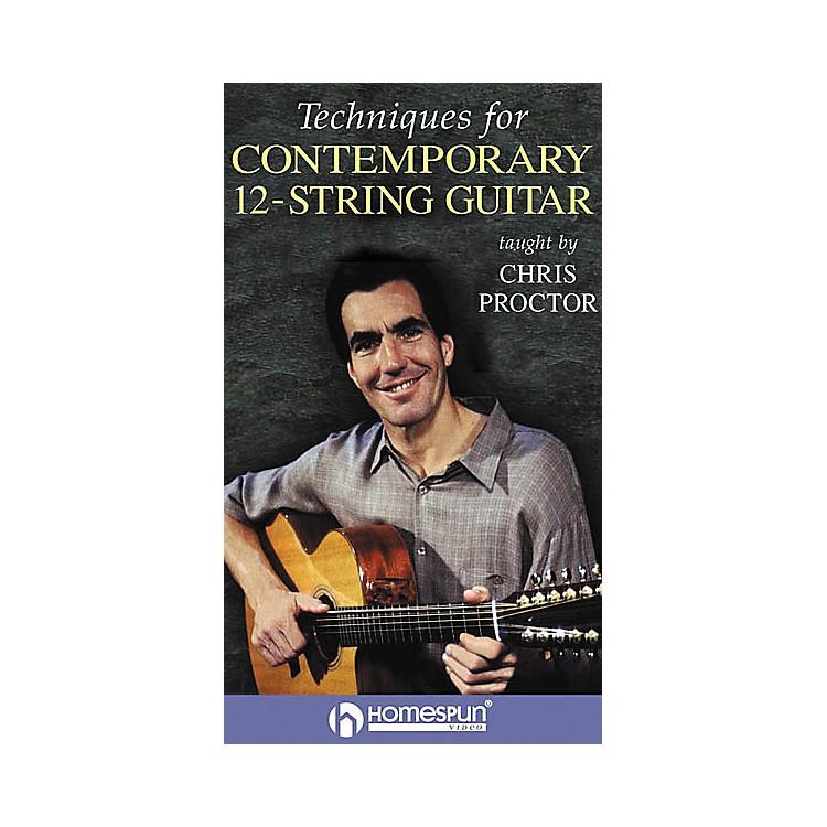 HomespunTechniques for Contemporary 12-String Guitar (VHS)