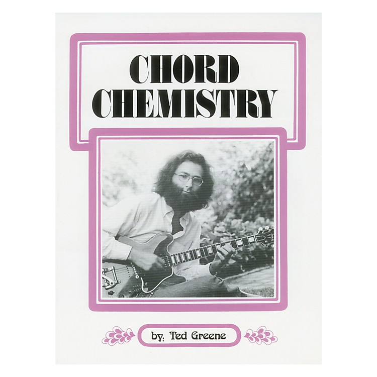 Alfred Ted Greene Chord Chemistry Guitar Book